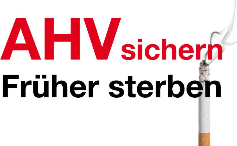 Ein bescheidener Vorschlag zur Rettung der AHV
